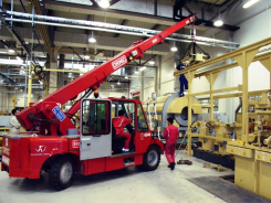 10 tm pick&carry electric crane