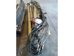 Winch distributor for crane