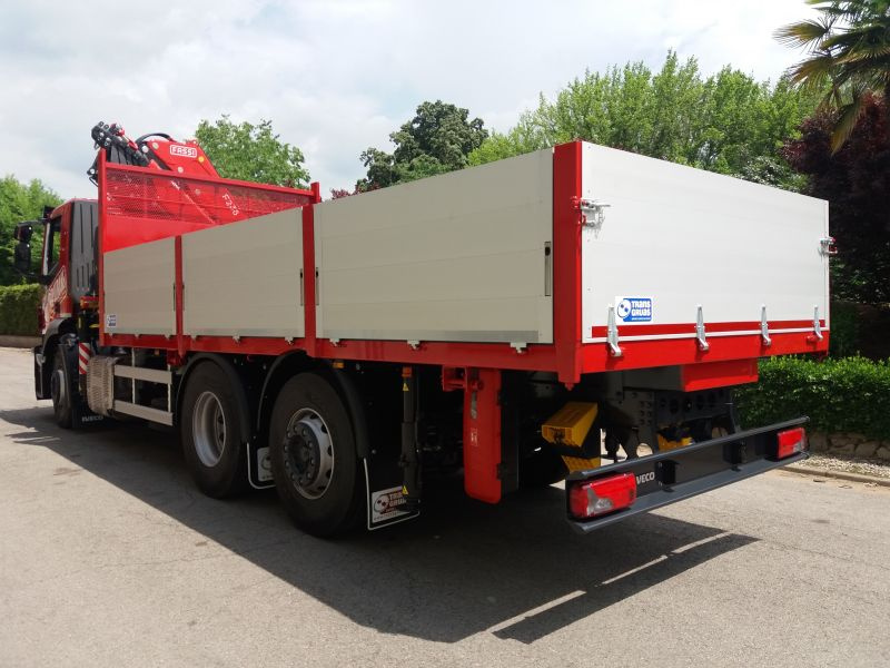 Fassi F235 + Fixed body
