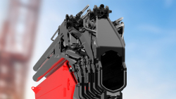 New decagonal section on Fassi crane