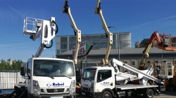 Multitel HX195 aerial platforms delivery to Alquileres Rubel