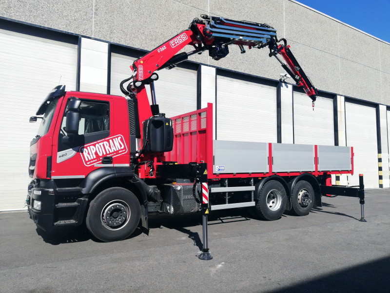 Fassi F365RA delivery to Ripotrans