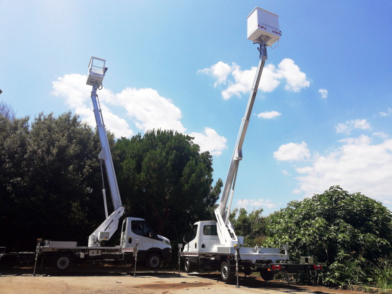 Delivery of two Multitel Pagliero MT182