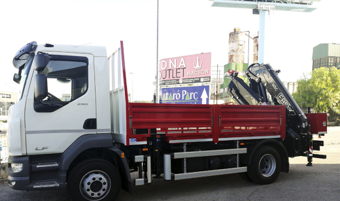 F165 crane + fixed body for Grúas Alcoy