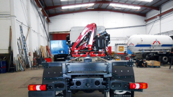 A Fassi F85B.0.24 active crane delivered in Canary Islands