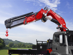 F1600RAL knuckle boom crane