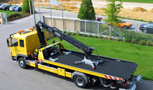 Fassi F170T crane for vehicle recovery
