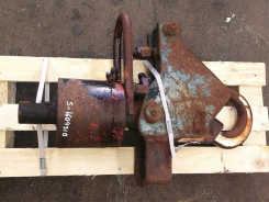 Used rotator + hydraulic hook