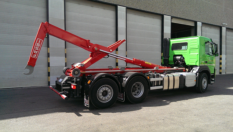 Delivery of 20 tn hooklift