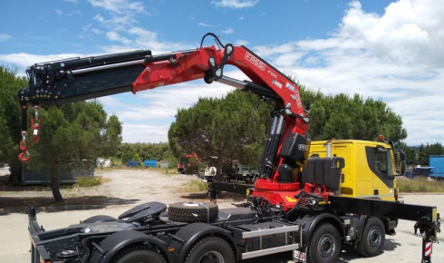 Fassi F950RA.2.28 for civil works