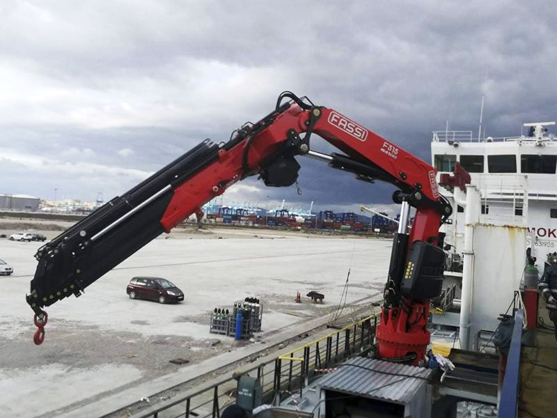 Delivery & assembling of two Fassi F315RA.2.28 marine