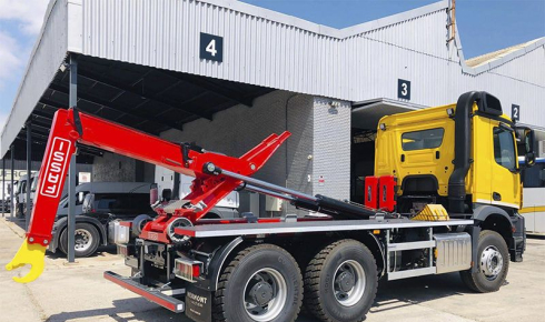 Fassi/Marrel 20tn delivery