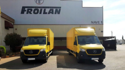 Two Anteo tail lifts delivery to Correos