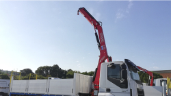 Fassi F110B.0.22 and F135A.0.22 delivery to Via Augusta, S.A