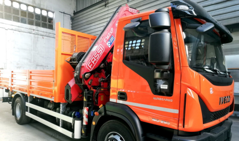 Fassi F165AXP.25 delivery to Germans Homs