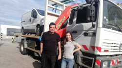 Delivery of used crane PK14080 by Transgruas