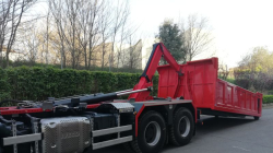 A 20 ton hooklift delivered in Menorca