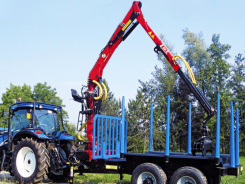 L60Z recycling/forestry crane