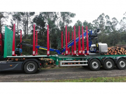 L75K forestry & recyling crane