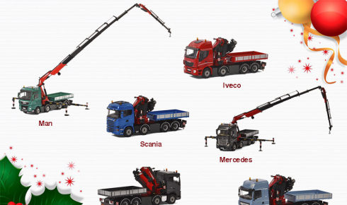 Give a Fassi crane toy for Christmas