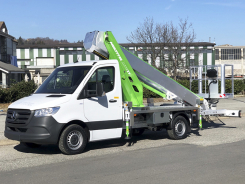 MTE 270 EX Multitel telescopic platform