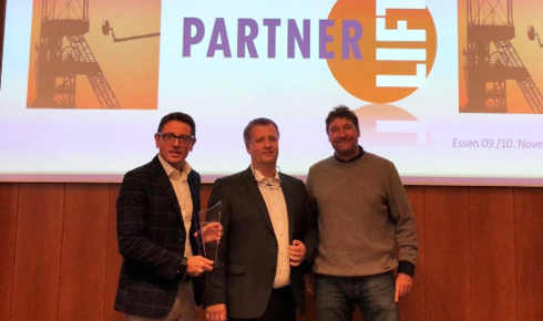 Multitel Pagliero: best supplier of the year according to Partnelift