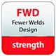 Fewer Welds Design