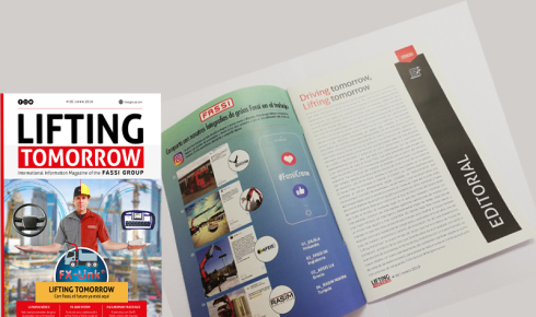Fassi magazine Lifting Tomorrow nº.00