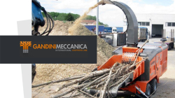 Transgruas new distributor of wood chippers Gandini