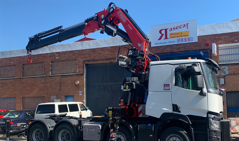 Fassi F820RA.2.26 xhe-dynamic delivery